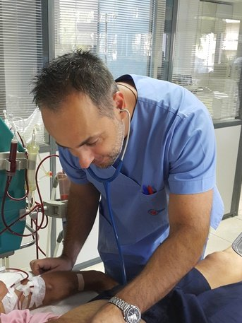 Νεφρολογικές υπηρεσίες στο ιατρείο